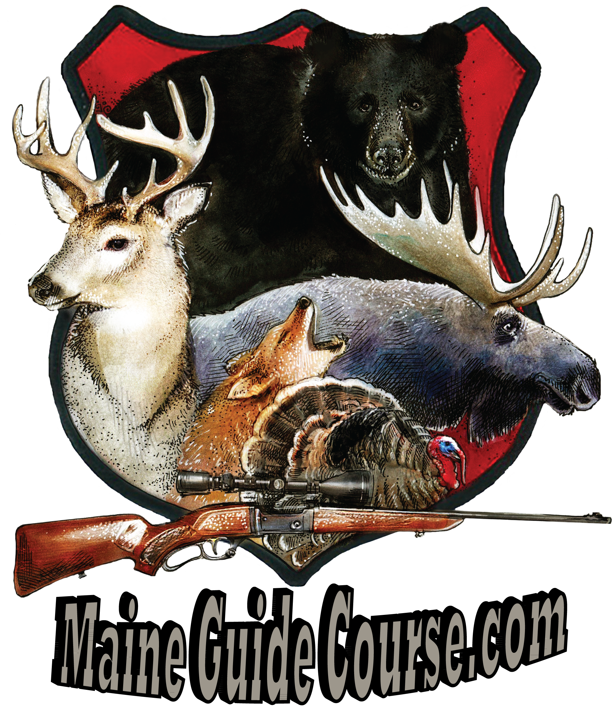 Logo-Maine Guide Course